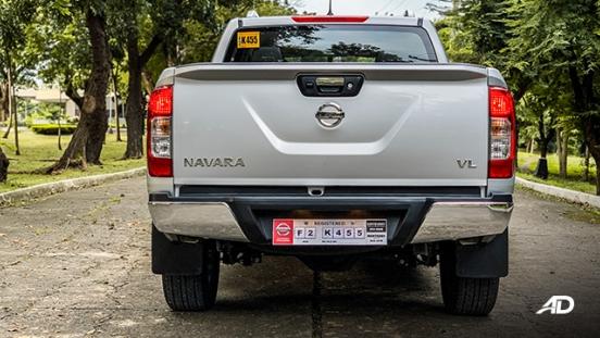Nissan Navara road test exterior rear