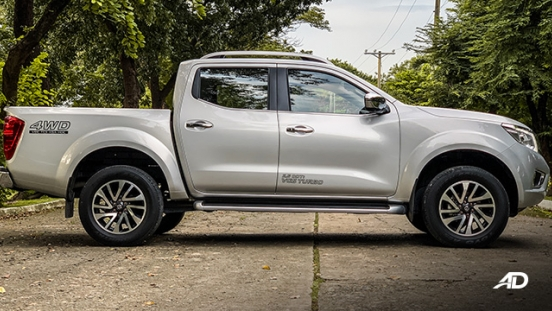 Nissan Navara road test exterior side philippines