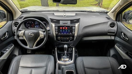 Nissan Navara road test interior dashboard