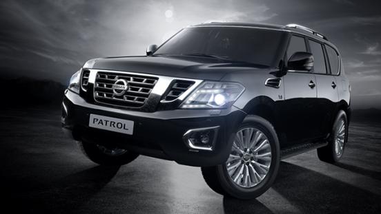Nissan Patrol Royale 2018 black