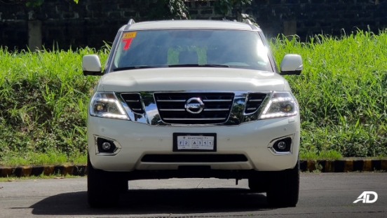 Nissan Patrol Royale Philippines exterior front grille