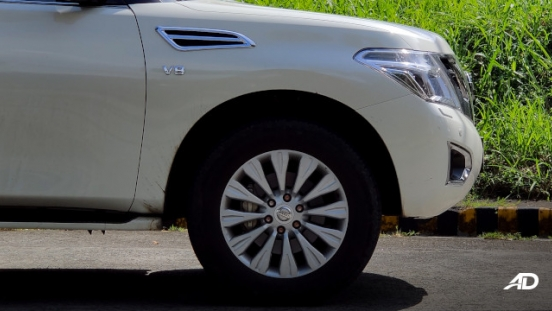 Nissan Patrol Royale Philippines exterior front wheels