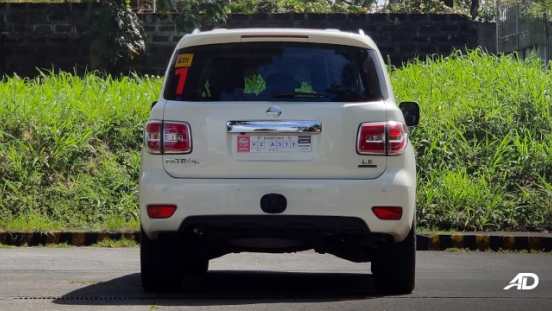 Nissan Patrol Royale Philippines exterior rear