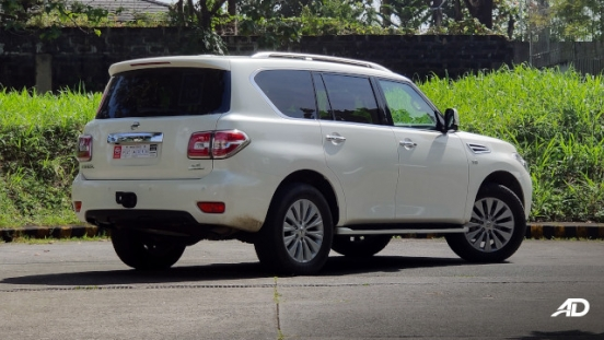 Nissan Patrol Royale Philippines exterior rear quarter