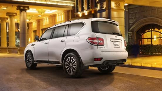 Nissan Patrol Royale rear quarter
