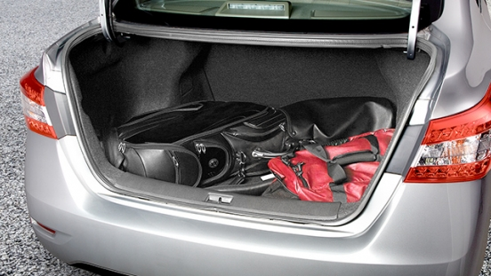 Nissan Sylphy trunk