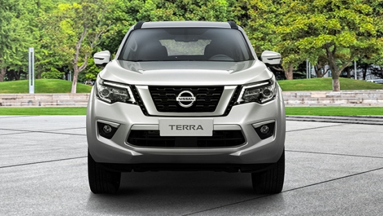 Nissan Terra front face