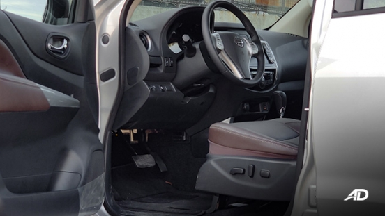 Nissan terra review road test front cabin interior philippines