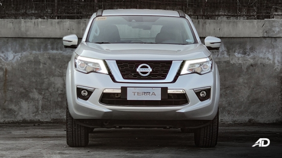 Nissan terra review road test front exterior