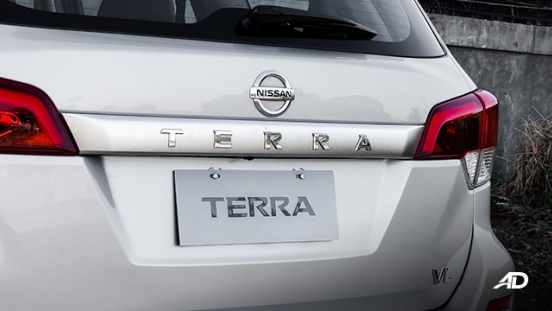 Nissan terra review road test rear badge exterior philippines