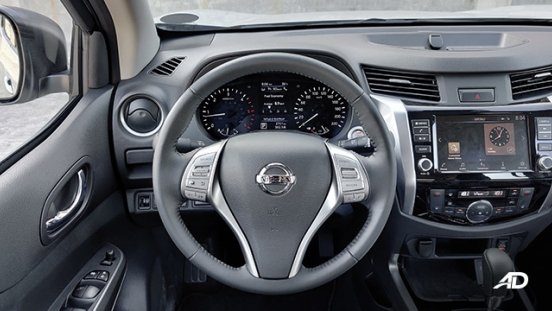 Nissan terra review road test steering wheel interior