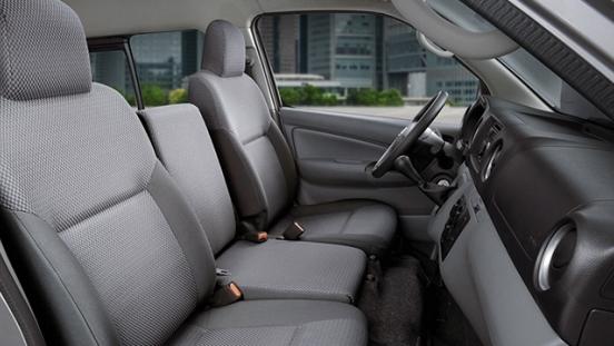 Nissan Urvan front seats