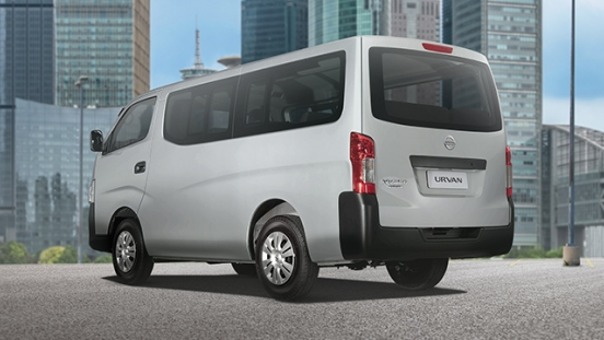 Nissan Urvan rear quarter