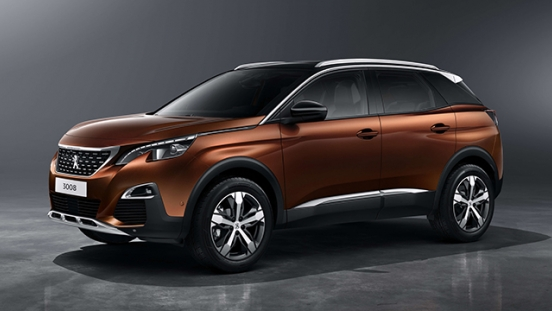 Peugeot 3008 2018 side