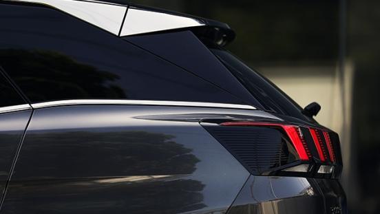 Peugeot 3008 2018 taillight