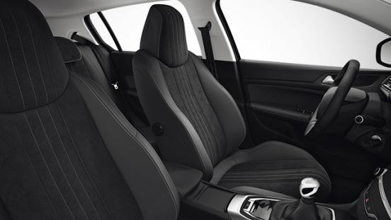 Peugeot 308 2018 seats