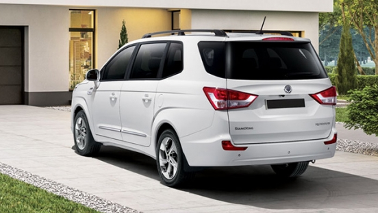 SsangYong Rodius Philippines rear