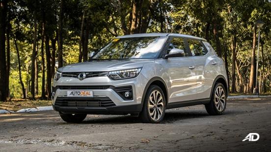 ssangyong tivoli diesel review road test beauty shot exterior