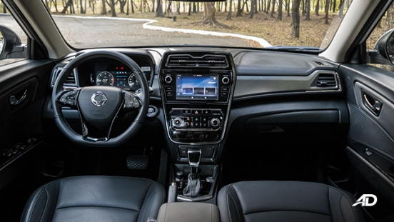 ssangyong tivoli diesel review road test dashboard interior philippines