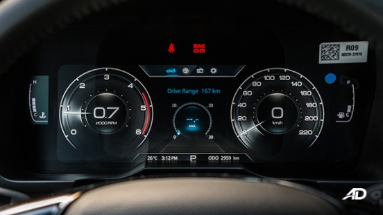 ssangyong tivoli diesel review road test digital instrument cluster interior