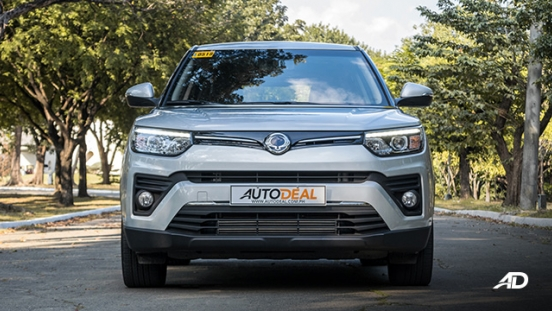 ssangyong tivoli diesel review road test front exterior philippines