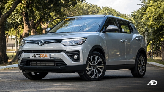 ssangyong tivoli diesel review road test front quarter exterior