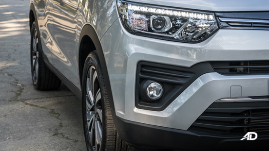 ssangyong tivoli diesel review road test led headlights exterior philippines