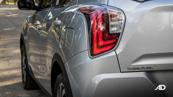 ssangyong tivoli diesel review road test led taillights exterior