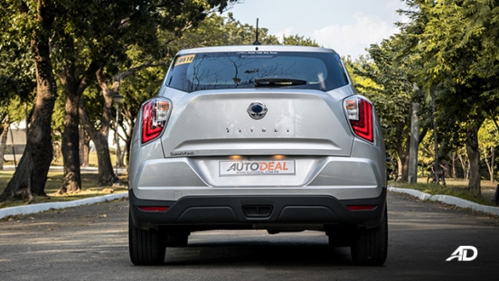 ssangyong tivoli diesel review road test rear exterior philippines