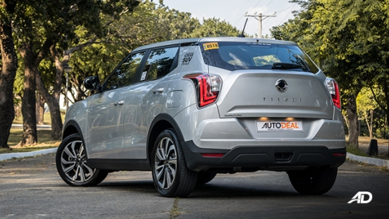 ssangyong tivoli diesel review road test rear quarter exterior philippines