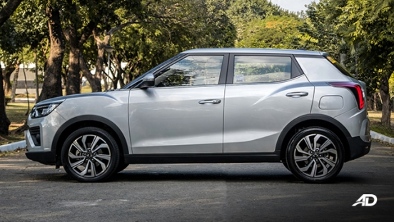 ssangyong tivoli diesel review road test side view exterior philippines
