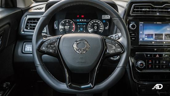 ssangyong tivoli diesel review road test steering wheel interior