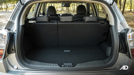 ssangyong tivoli diesel review road test trunk cargo interior