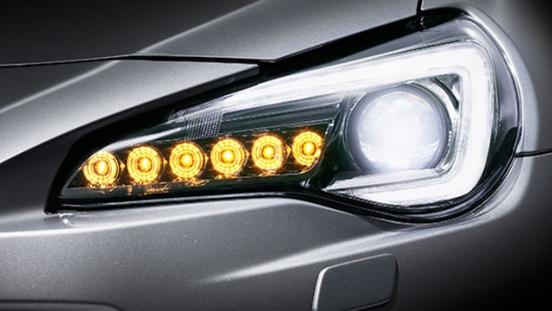 Subaru BRZ Headlight