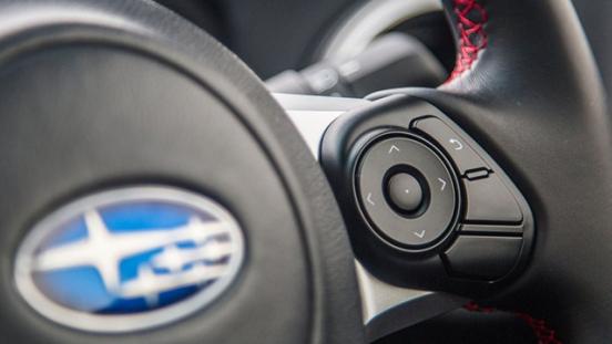 Subaru BRZ Steering Wheel Audio Controls