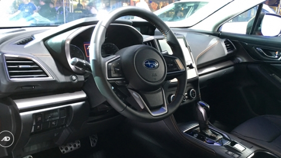 Subaru XV Steering Wheel