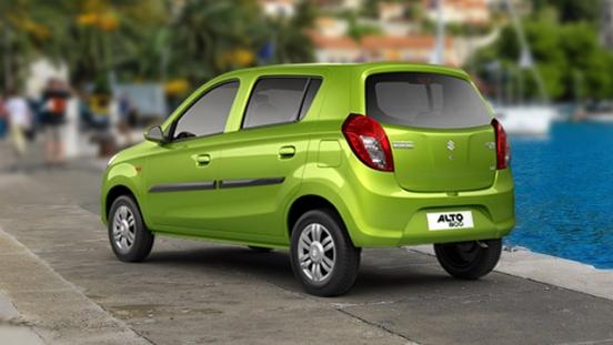 Suzuki Alto 2018 rear