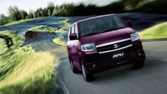 Suzuki APV 2018 front