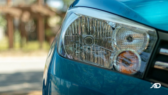 suzuki celerio road test exterior headlights