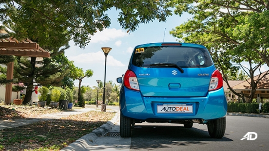 suzuki celerio road test exterior rear philippines