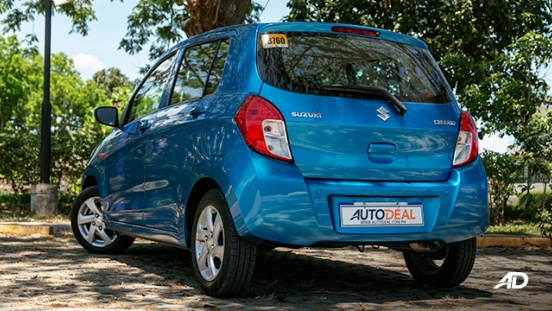 suzuki celerio road test exterior rear quarter