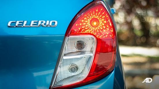 suzuki celerio road test exterior taillights