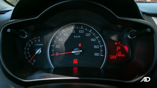 suzuki celerio road test interior instrument cluster