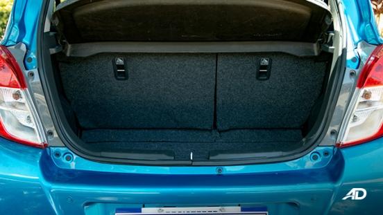 suzuki celerio road test interior trunk philippines