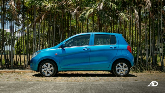 suzuki celerio road test side exterior