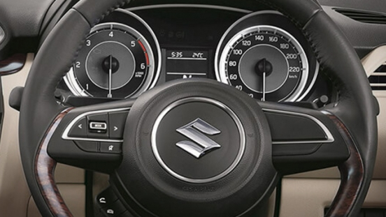 Suzuki Dzire 2018 steering wheel