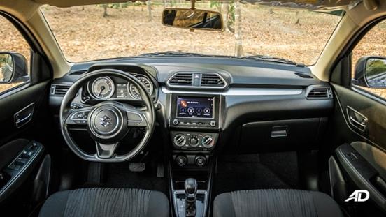 suzuki dzire review road test dashboard interior philippines