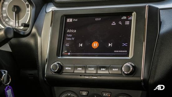 suzuki dzire review road test touchscreen infotainment interior philippines