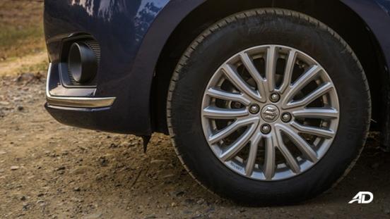 suzuki dzire review road test wheels exterior philippines