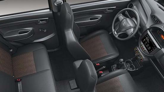 Suzuki S-presso interior Seats